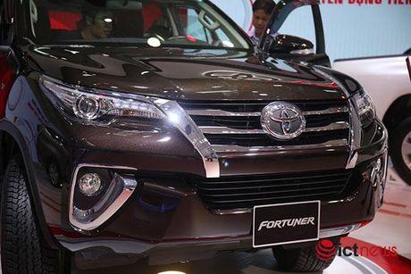 Toyota Fortuner 2017 vua ve Viet Nam - Anh 10