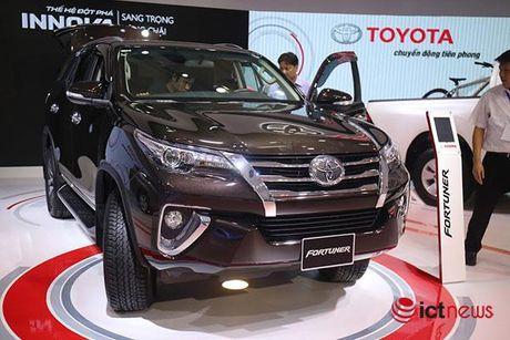 Toyota Fortuner 2017 vua ve Viet Nam - Anh 11