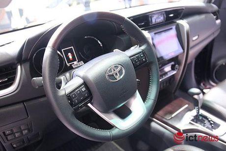 Toyota Fortuner 2017 vua ve Viet Nam - Anh 2