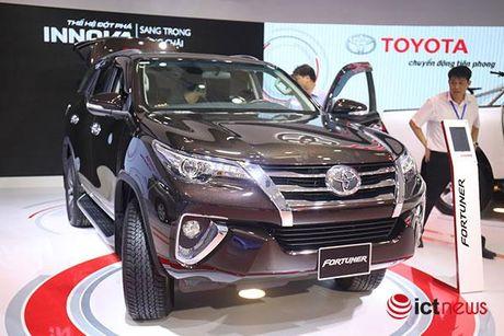 Toyota Fortuner 2017 vua ve Viet Nam - Anh 3
