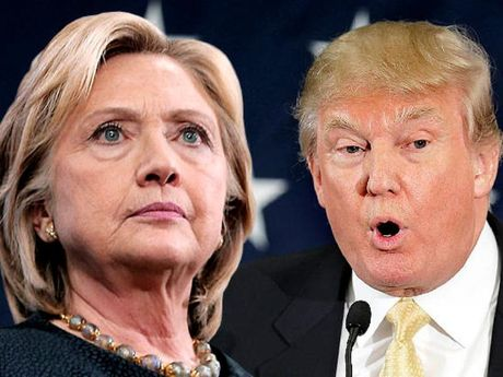 Truc tiep tranh luan Hillary Clinton va Donald Trump - Anh 1