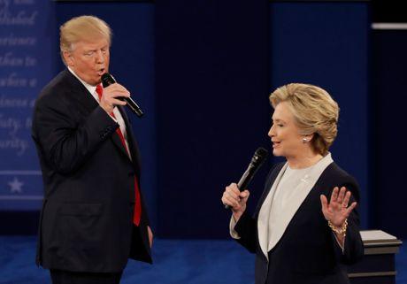 Tranh luan lan 2: Trump se cho Clinton di tu neu thang - Anh 3