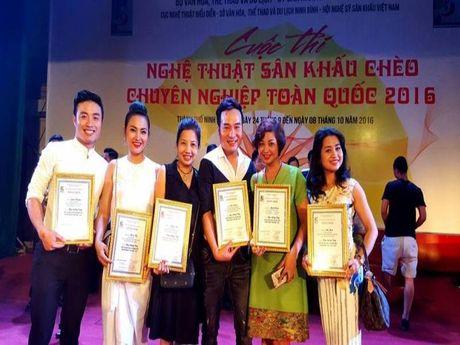 Cheo Ha Noi boi thu huan chuong - Anh 1