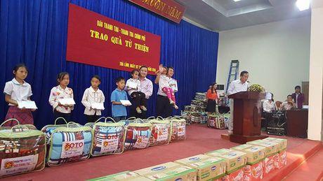 Bao Thanh tra mang 'Hanh trinh yeu thuong' den Cao Bang - Anh 1