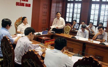 Quang Nam: Nhieu thuy dien van hanh lu chua thuc hien theo quy dinh - Anh 1