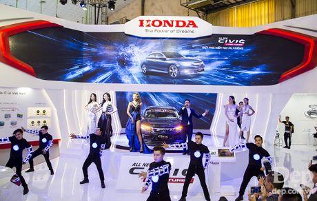 Honda Civic hoan toan moi ra mat tai Viet Nam - Anh 1