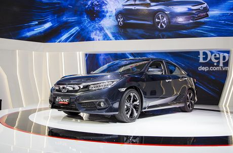 Honda Civic hoan toan moi ra mat tai Viet Nam - Anh 2