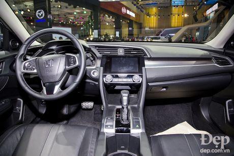 Honda Civic hoan toan moi ra mat tai Viet Nam - Anh 3
