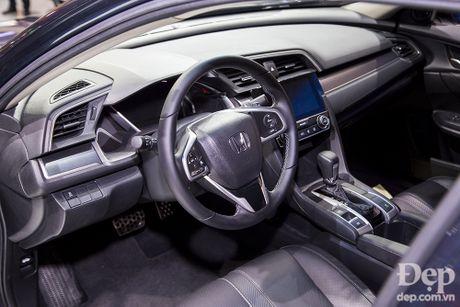 Honda Civic hoan toan moi ra mat tai Viet Nam - Anh 4