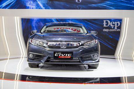 Honda Civic hoan toan moi ra mat tai Viet Nam - Anh 5