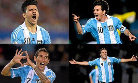 Leo Messi co nhieu ban tot nhung van phai that vong - Anh 1