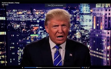 Vo Donald Trump kheo leo giai vay cho chong truoc gio tranh luan - Anh 2