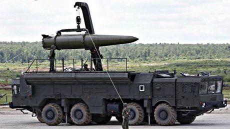 Nga trien khai ten lua Iskander-M toi Kaliningrad khien NATO lo ngai - Anh 1