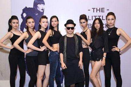 Mau Viet dien ca 'cay den' no nuc di casting thoi trang - Anh 13