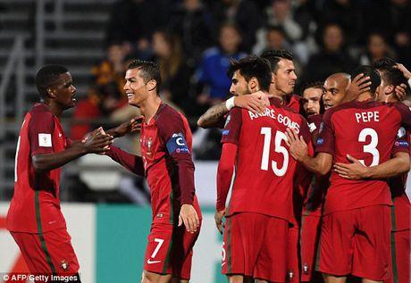 Ronaldo va Silva toa sang, Bo Dao Nha lan thu 2 'choi tennis' trong 3 ngay - Anh 3