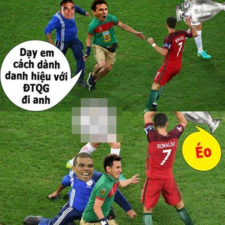 Anh che: Can loi voi cuoc tinh tay ba Pepe – Messi – Wenger; CR7 quyet giau bi kiep khien M10 om han - Anh 5