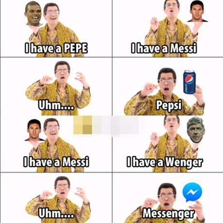 Anh che: Can loi voi cuoc tinh tay ba Pepe – Messi – Wenger; CR7 quyet giau bi kiep khien M10 om han - Anh 6