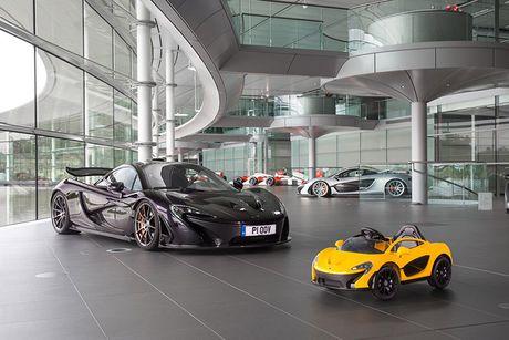 Sieu xe McLaren P1 gia hon 10 trieu cho 'dai gia nhi' - Anh 1