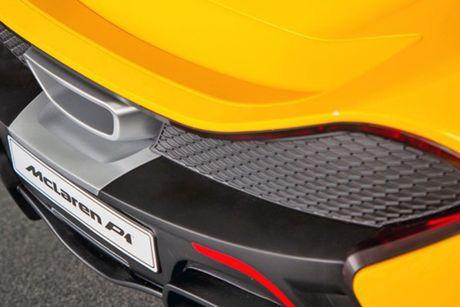 Sieu xe McLaren P1 gia hon 10 trieu cho 'dai gia nhi' - Anh 4