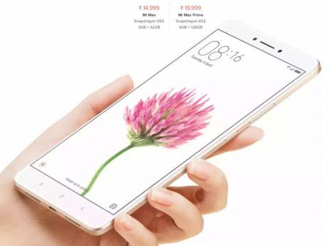 Hang Xiaomi ra mat smartphone Mi Max Prime tai An Do - Anh 1