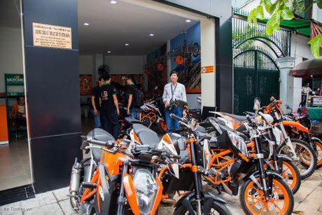 KTM khai truong showroom chinh hang - day du cac dong xe, gia hop ly nhat trong phan khuc - Anh 13