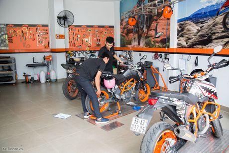 KTM khai truong showroom chinh hang - day du cac dong xe, gia hop ly nhat trong phan khuc - Anh 6