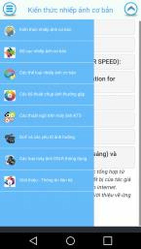 Moi dung thu ung dung 'Cam nang nhiep anh co ban' cho Android - Anh 5