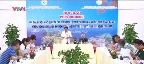 Hoi thao An ninh moi truong va hang hai vi mot Bien Dong xanh - Anh 1