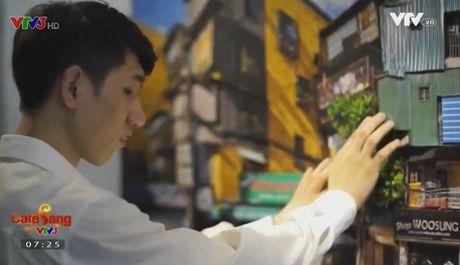 Cafe Sang voi VTV3: An tuong khong gian Ha Noi thu nho duoi dang 3D - Anh 1