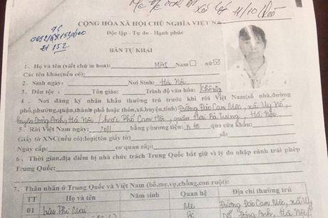 Thong tin be gai mang thai bi ban sang Trung Quoc van dang duoc xac minh - Anh 1