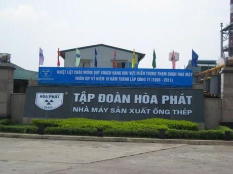 Quy 3 Hoa Phat lai sau thue 1.600 ty, 9 thang vuot 45% ke hoach nam - Anh 1