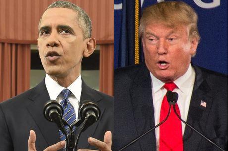 """Tong thong Obama canh bao ong Trump dang o the """"bat an"""" - Anh 1"""