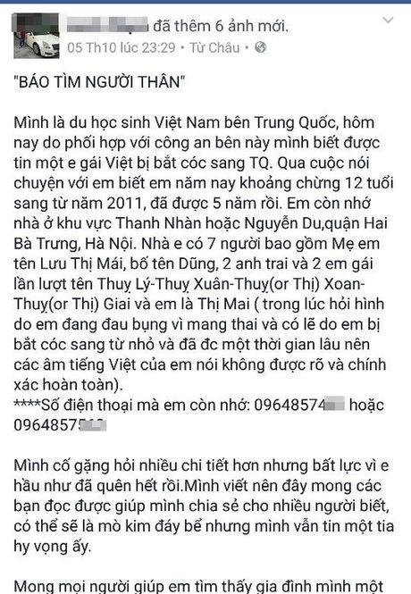 Be gai 12 tuoi mang thai la nguoi Viet - Anh 2