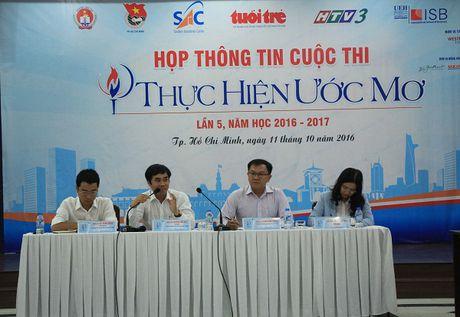 Khoi tranh san choi 'Thuc hien uoc mo' mua thu 5 - Anh 1