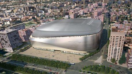 Real Madrid trinh lang 'sieu du an' tan trang Santiago Bernabeu - Anh 1