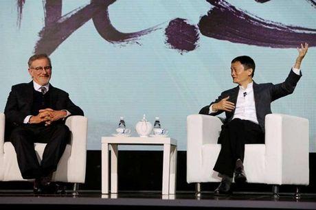 Jack Ma va Steven Spielberg hop tac kinh doanh phim - Anh 1