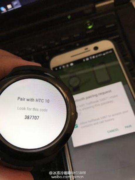Lo hinh anh ro net smartwatch dau tien cua HTC - Anh 4