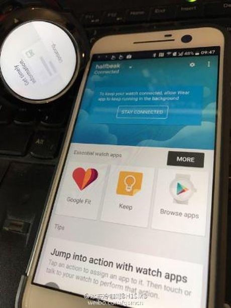 Lo hinh anh ro net smartwatch dau tien cua HTC - Anh 7