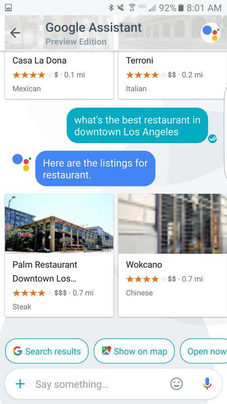 Su khac biet giua 2 tro ly ao Google Now va Google Assistant - Anh 3