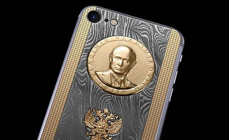 Tong thong Putin co iPhone 7 sieu 'doc' - Anh 3