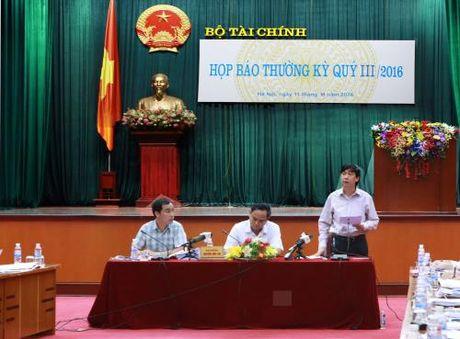 Bo Tai chinh thong tin nhieu van de du luan quan tam - Anh 1