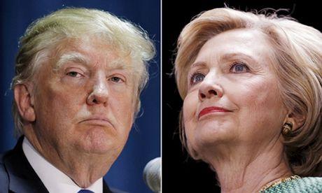 Clinton duoc ung ho nhieu hon sau khi Trump lo video khoe sam so phu nu - Anh 1