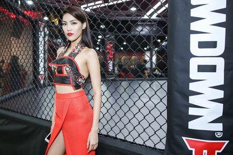 Lan Khue, Dieu Ngoc hao huc don huyen thoai UFC sang Viet Nam - Anh 2