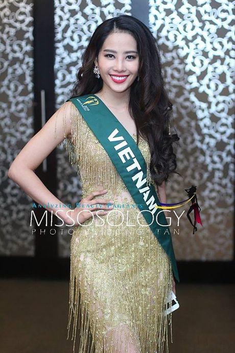 Dien vay giong Pham Huong, Nam Em lien tuc gay chu y tai Miss Earth 2016 - Anh 1