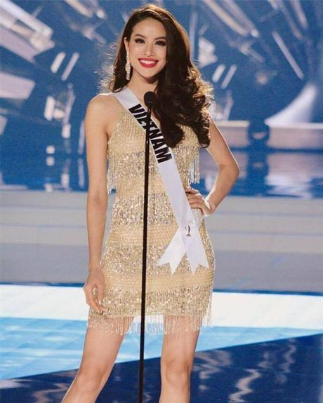 Dien vay giong Pham Huong, Nam Em lien tuc gay chu y tai Miss Earth 2016 - Anh 2