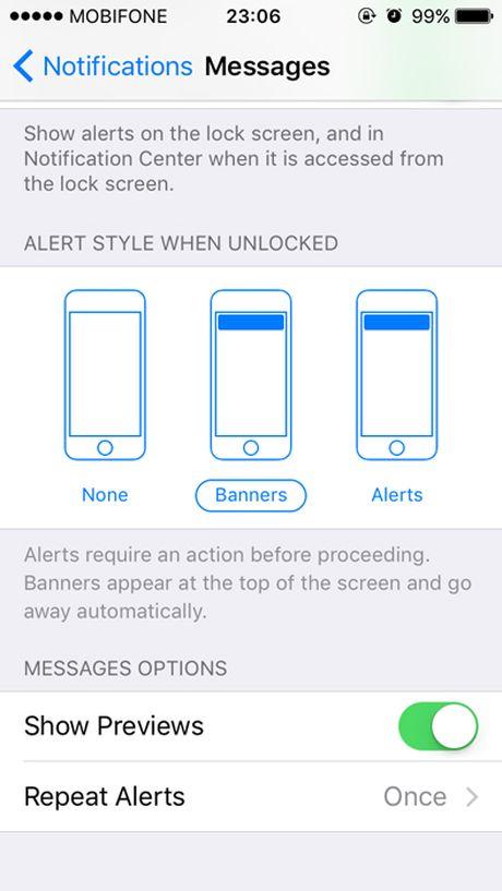 Thu thuat bao mat man hinh khoa tren iOS 10 - Anh 2