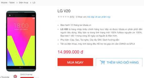 LG V20 bat dau duoc ban tai Viet Nam - Anh 2