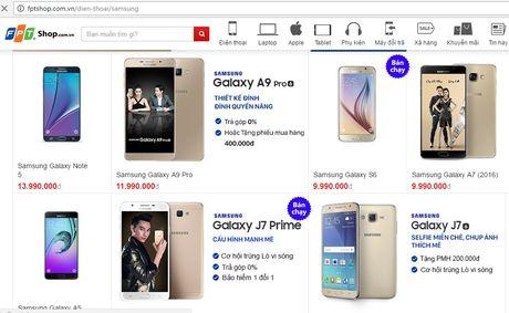 Cac he thong ban le tai Viet Nam khong con ban Galaxy Note 7 - Anh 1