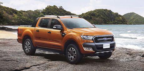 Xe ban tai Ranger dat khach, Ford mo rong san xuat o Thai Lan - Anh 1
