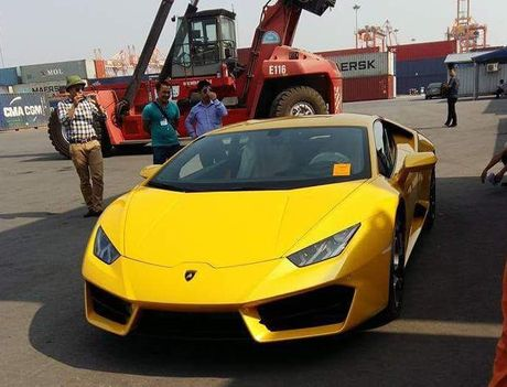 Lamborghini Huracan cau sau thu hai ve Viet Nam - Anh 3